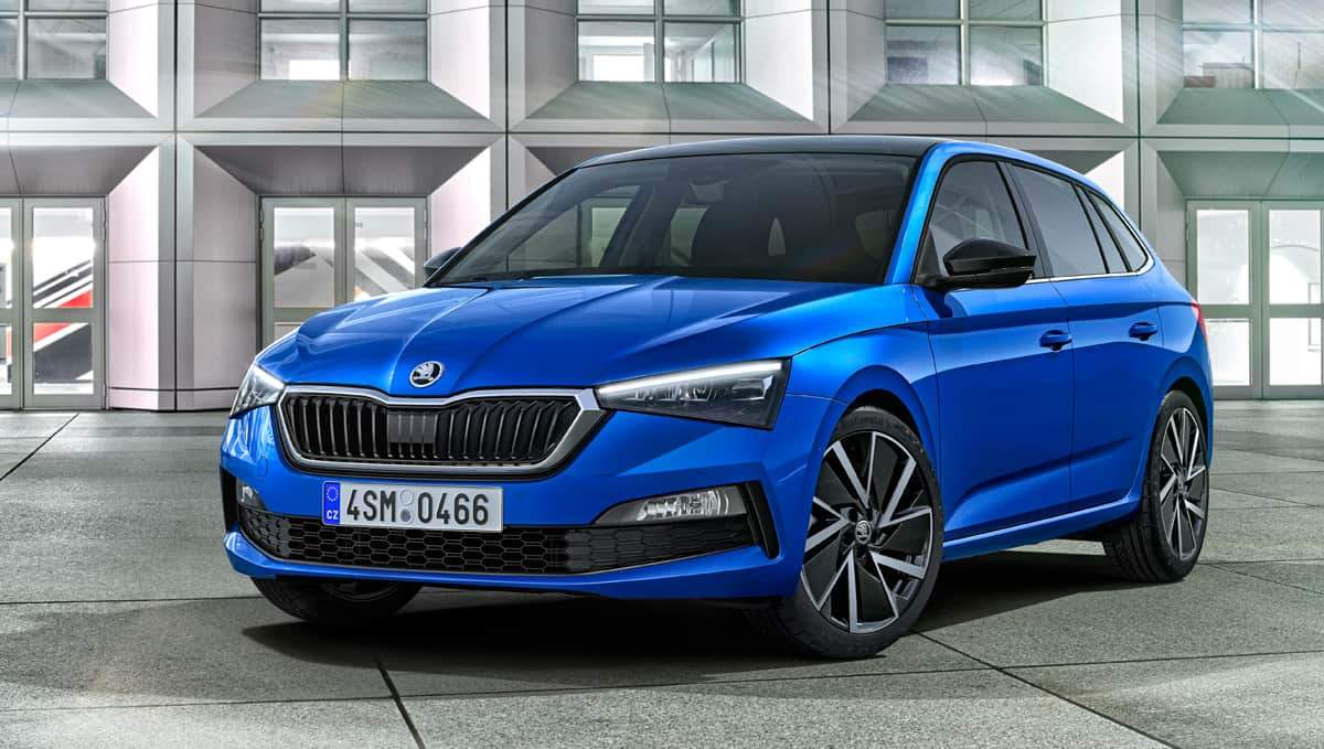 5 adımda Rapid'den Golf'e: Skoda Scala