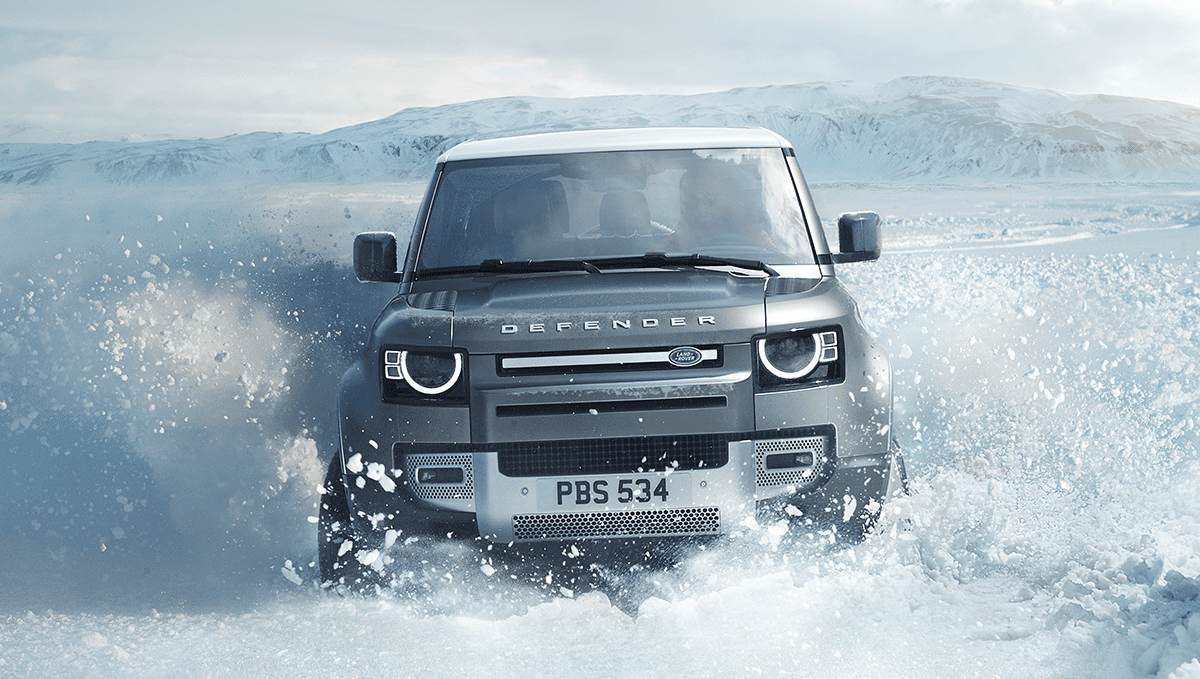 Land Rover Defender: Winter is coming!